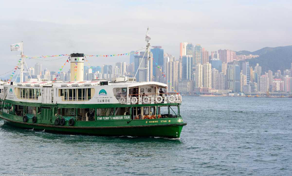 Ferries in Hong Kong