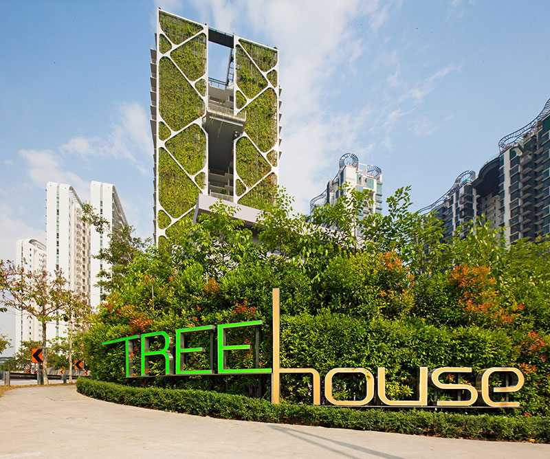 Tree House, Top buildings in Singapore