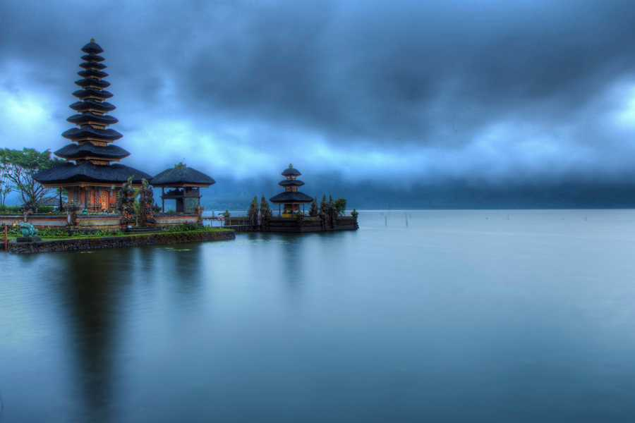 Pura Ulun Danu Bratan, one of the most iconic landmarks of Bali
