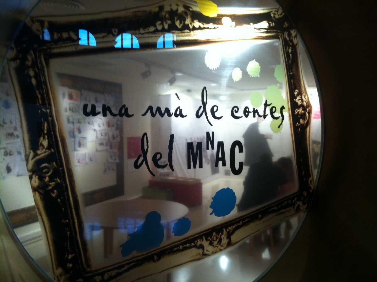 frame, museu nacional d'art de catalunya, children's activity
