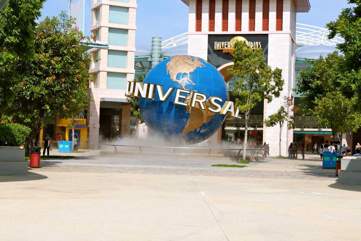Universal Studios, Singapore in November