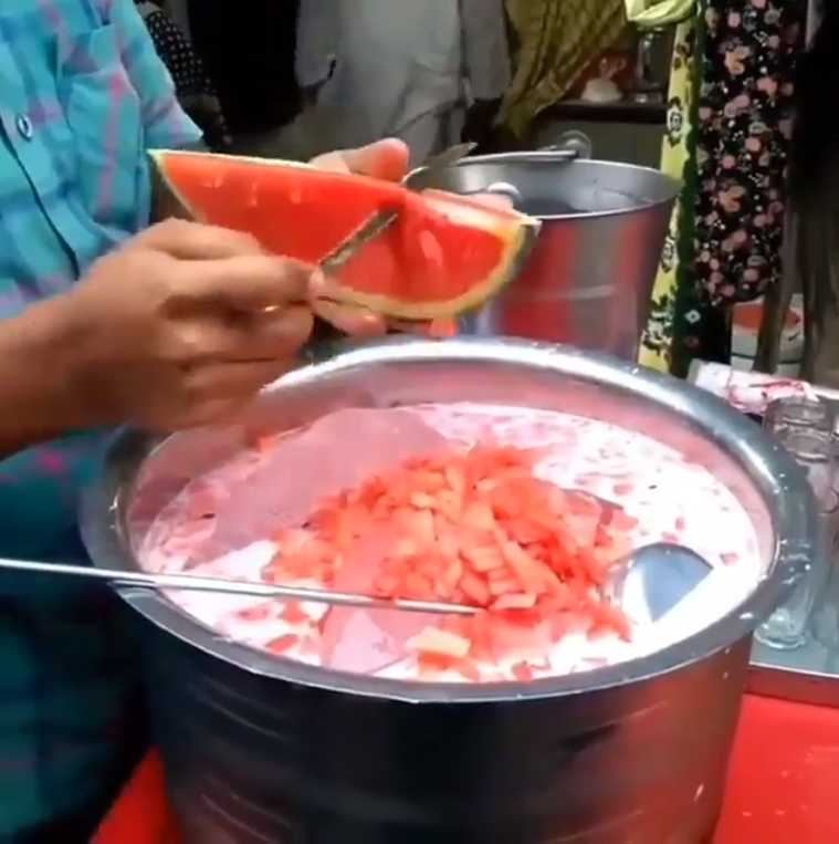 Nawab Qureshi's Watermelon Shake