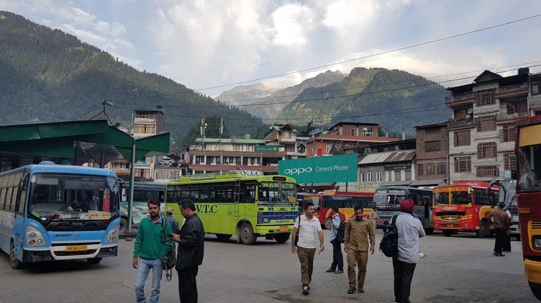Manali Bus Stand
