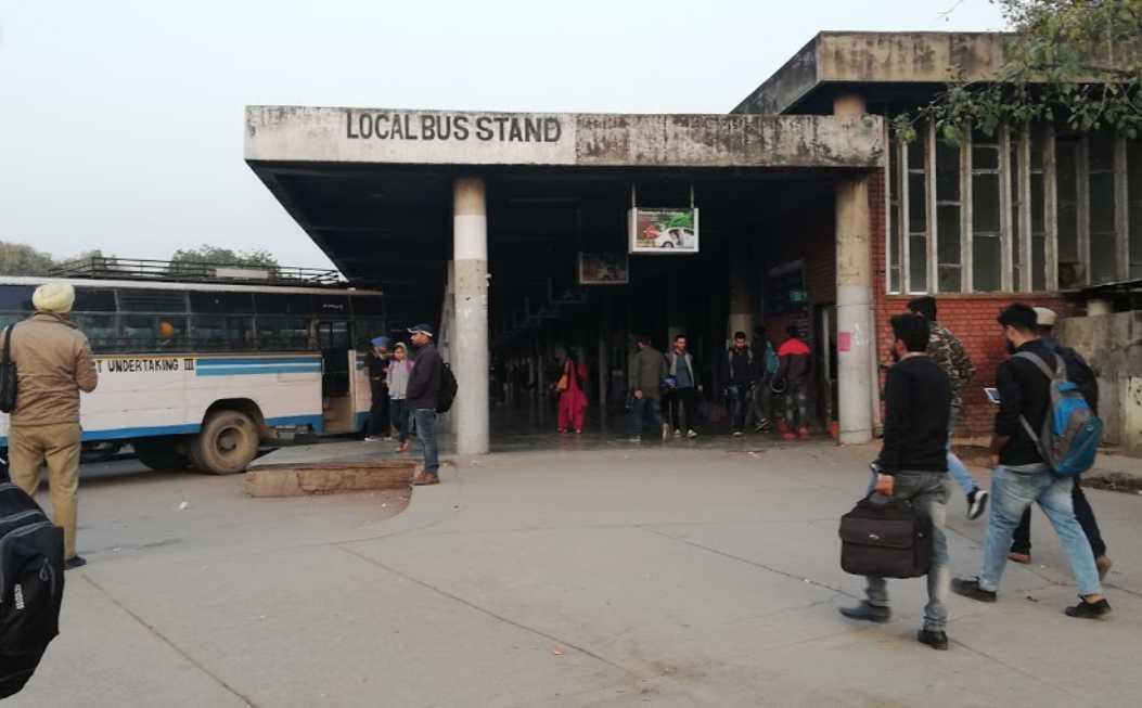 Chandigarh Bus Stand