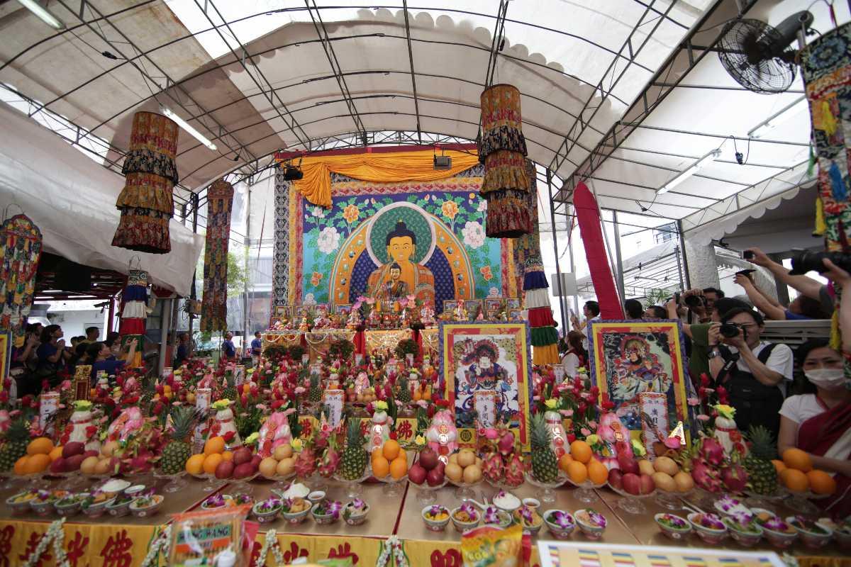 Vesak Day, Sakya Muni Buddha Gaya Temple