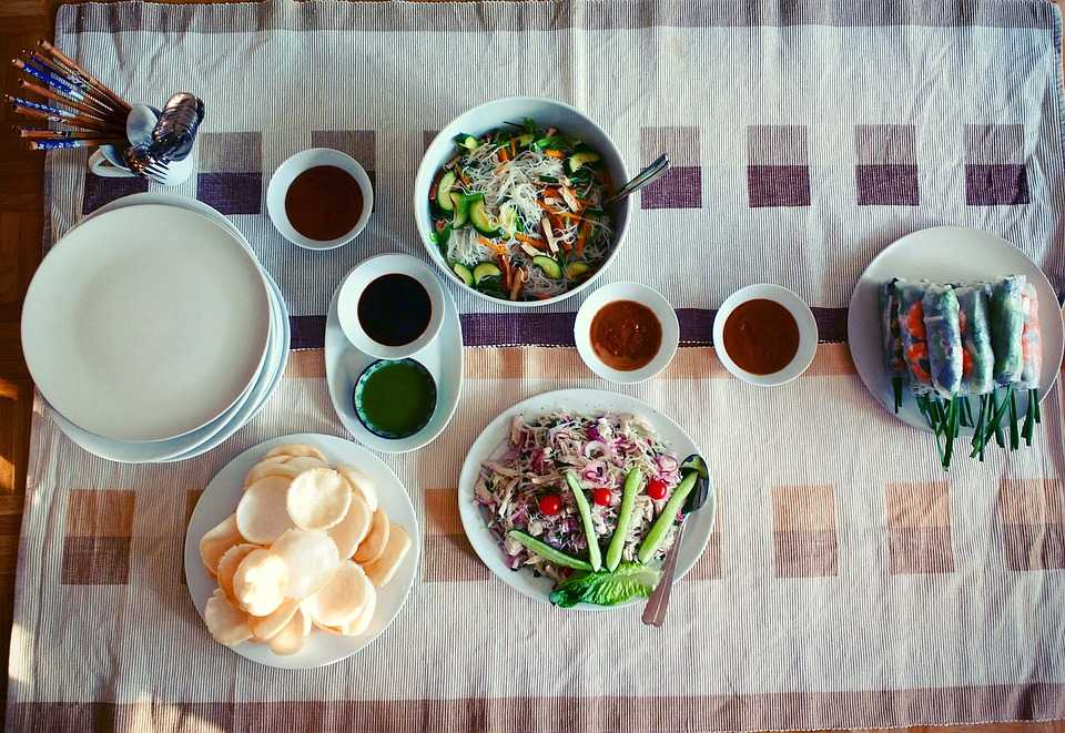 Vietnamese Meal in Halong Bay