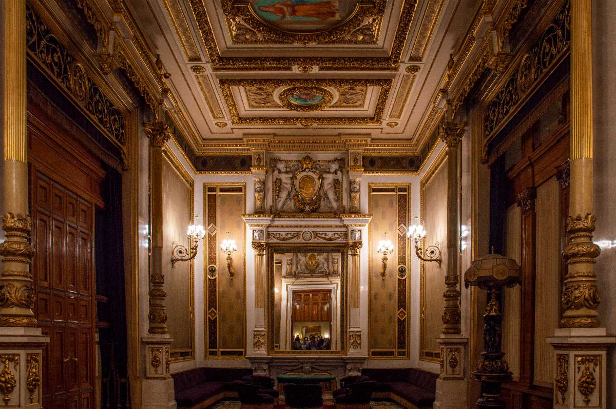 The Emperor's Private Room at Vienna State Opera, Vienna