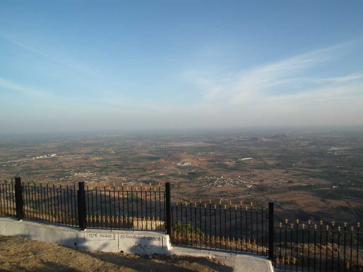 A View from Nandi Hills