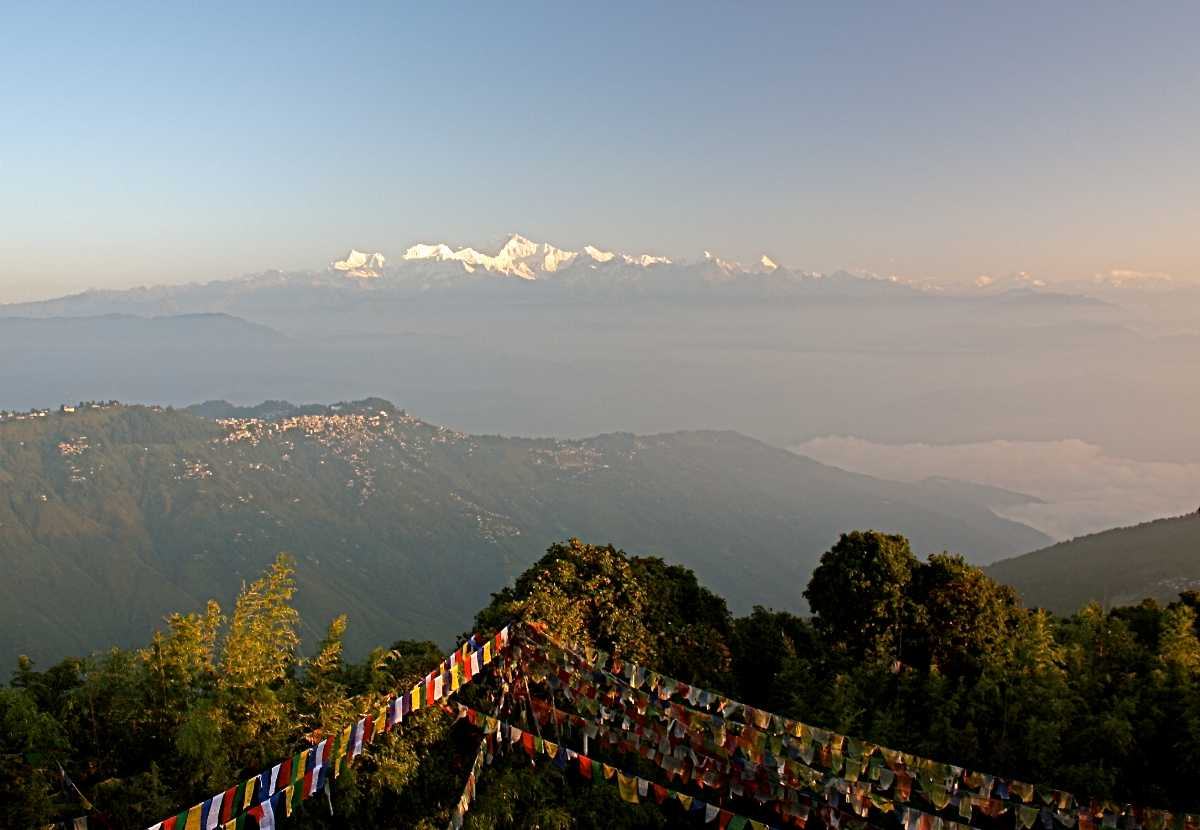 View from Tiger Hill Darjeeling