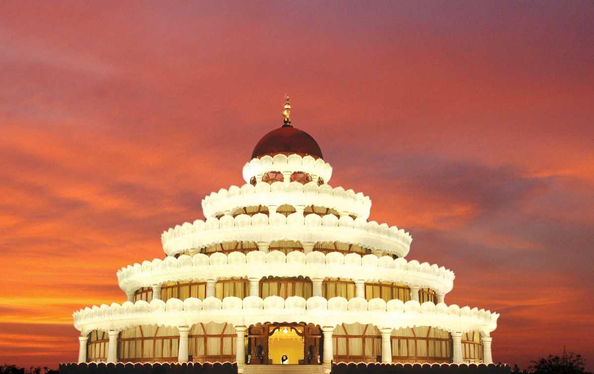 Art of Living International Centre, Bangalore- Structure