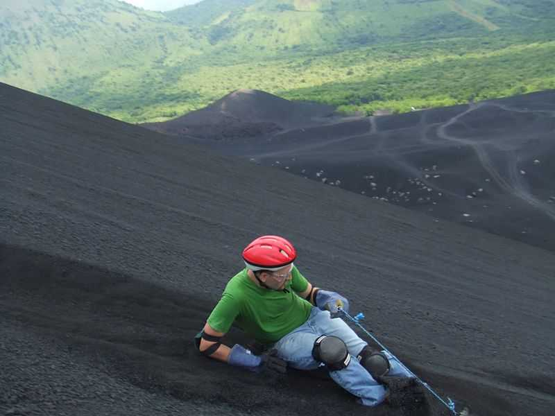 Volcano Boarding, 12 Of The Most Dangerous Adventure Sports In The World