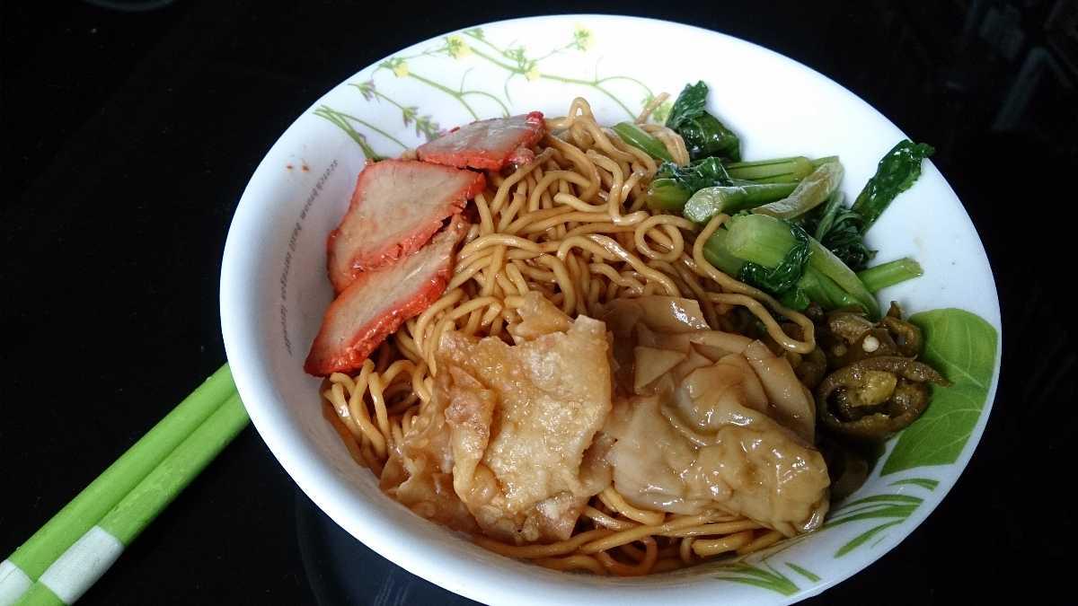 Wanton Mee, Street Food in Singapore