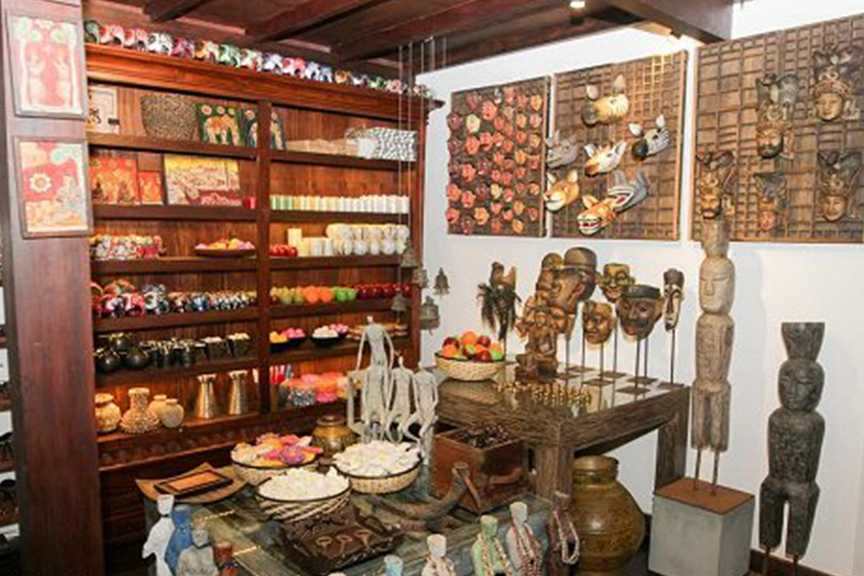 Variety of Antiques at the Waruna Antiques Shop