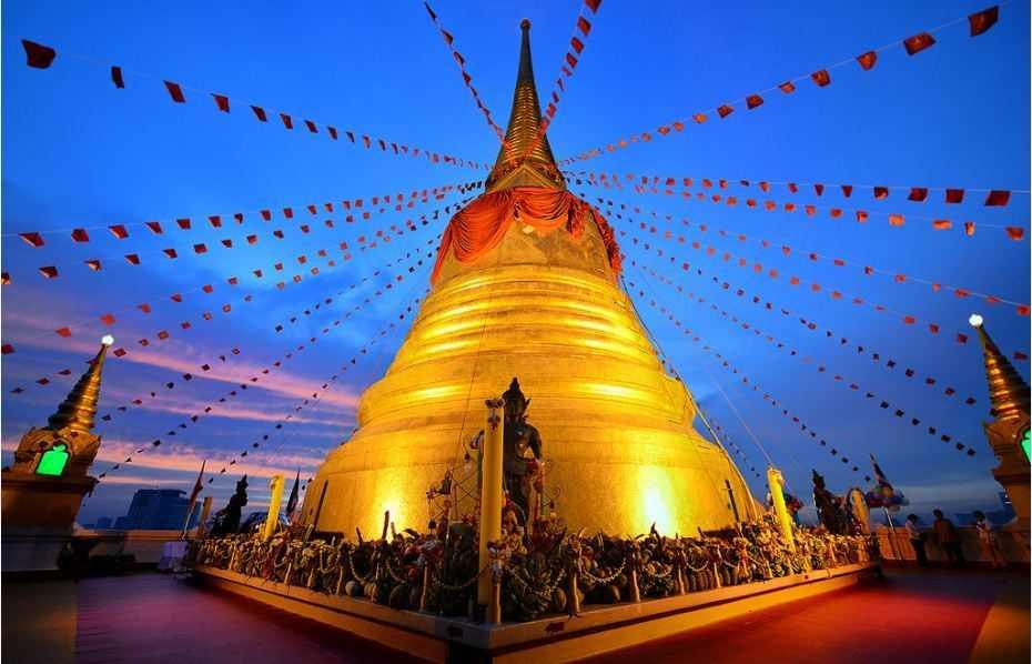 Wat Saket, Makha Bucha Festival