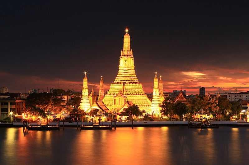 Wat Arun, Temples in Thailand