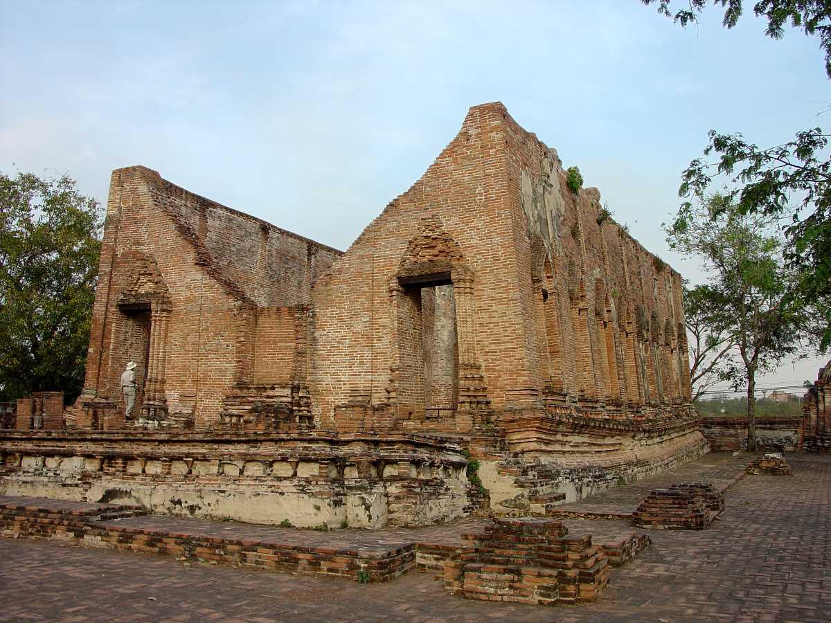 Architecture of Wat Kudi Dao, Ayutthaya