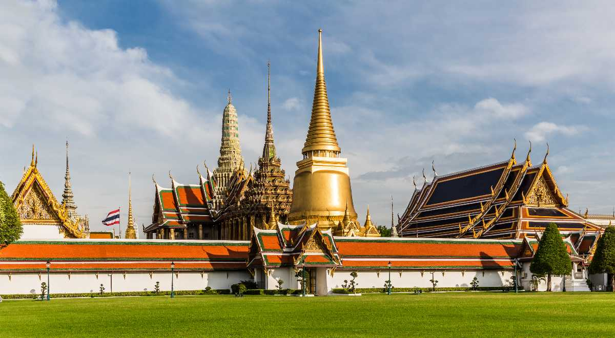 Wat Phra Kaew or 'Temple of the Emerald Buddha' as the site for the Cultivating Ceremony, Royal Ploughing Ceremony