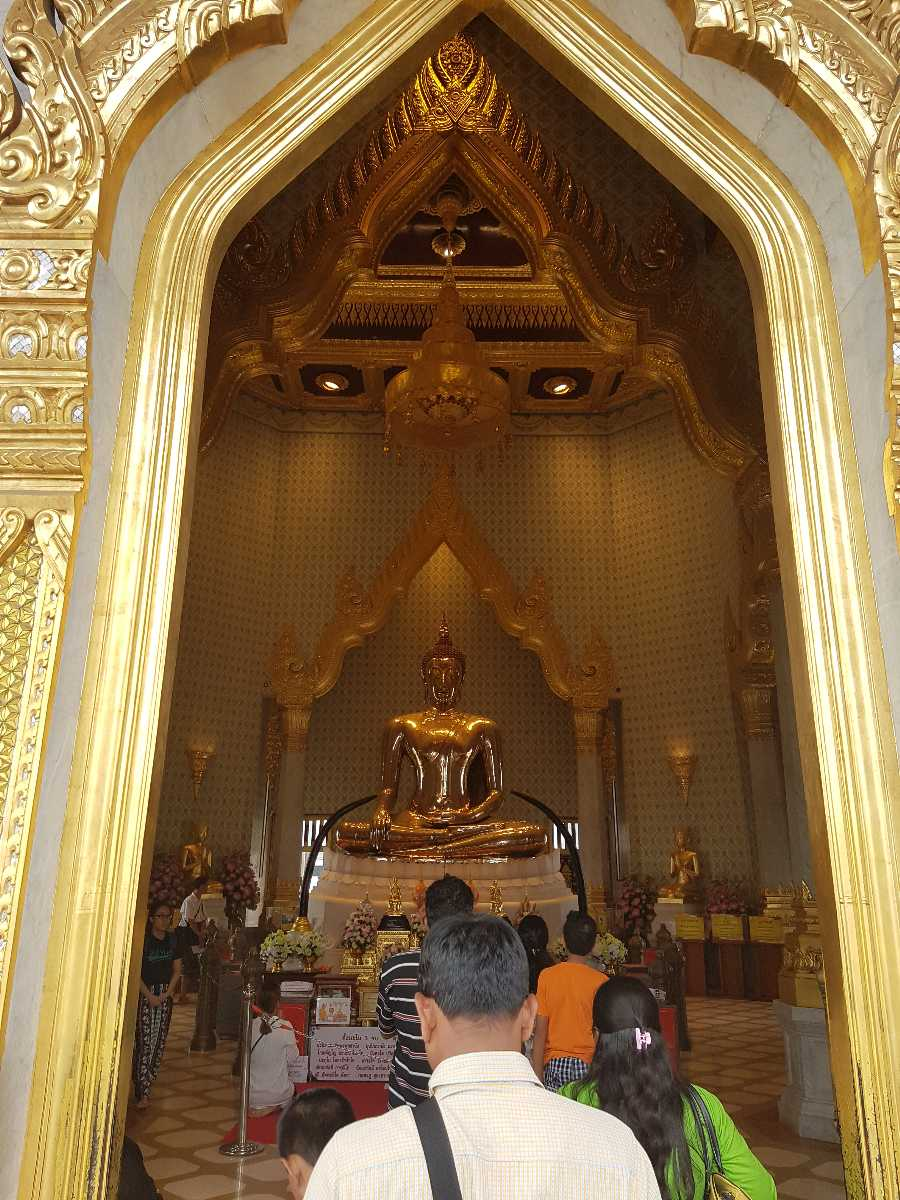 Room of Gold Buddha, Wat Traimit Bangkok