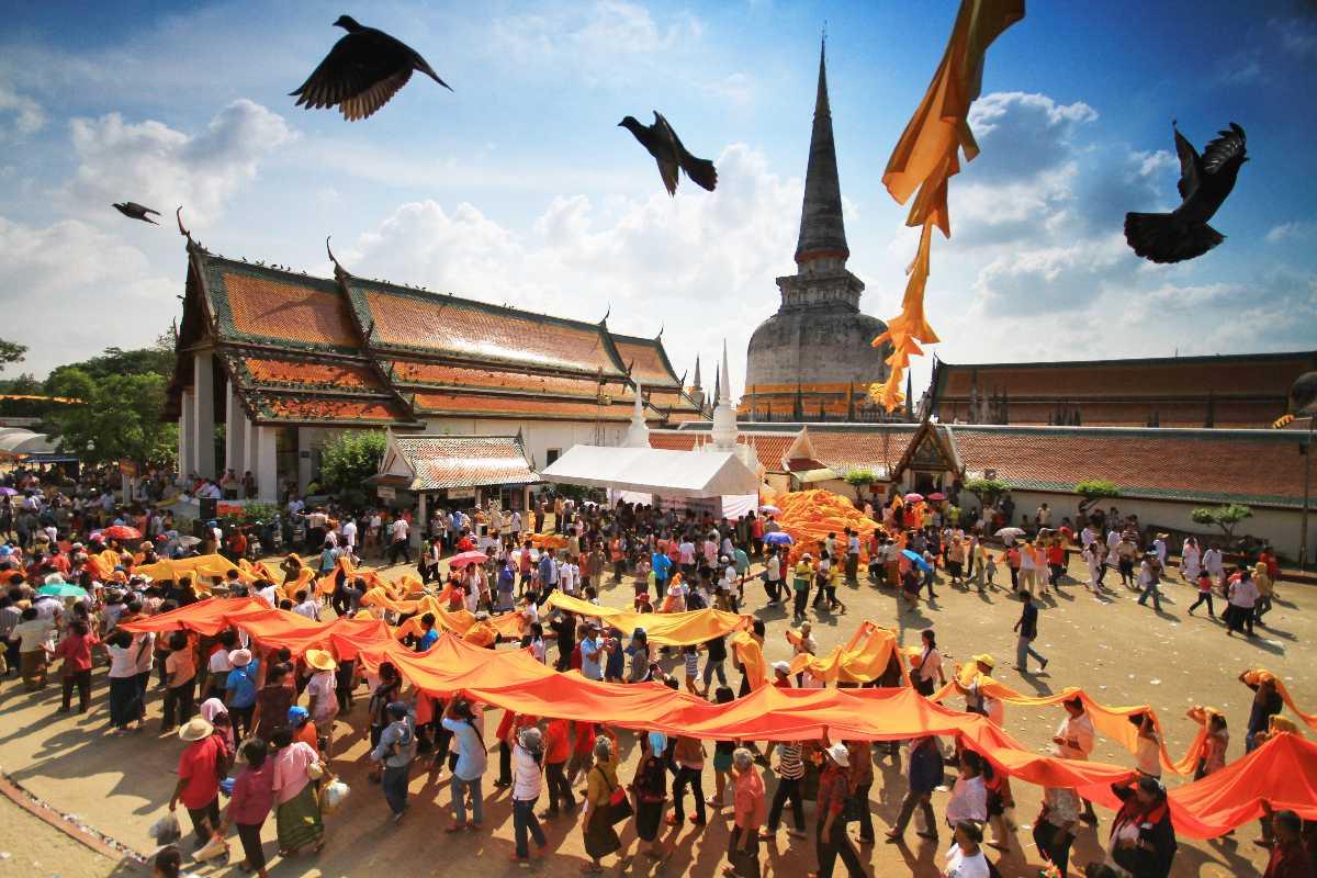 Wat Phra Wahatat Woramahawihan Temple, Thailand