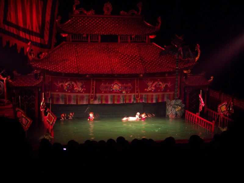 Nightlife in Hanoi, Hanoi Water Puppet Theatre