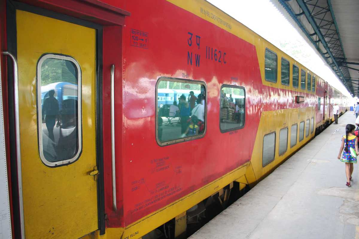 Ahemdabad double decker,  ten superfast trains in india