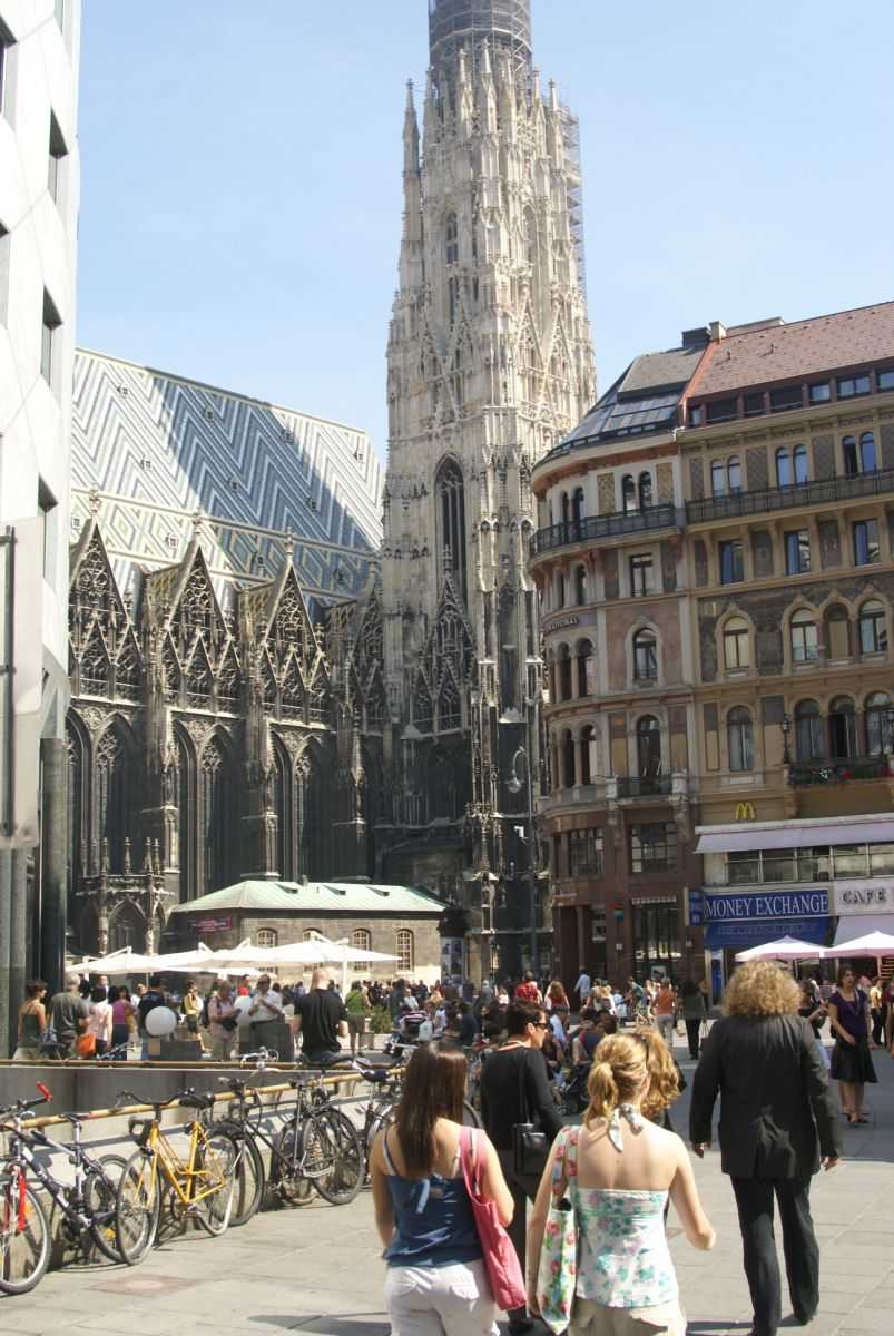 st stephen's cathedral, graben
