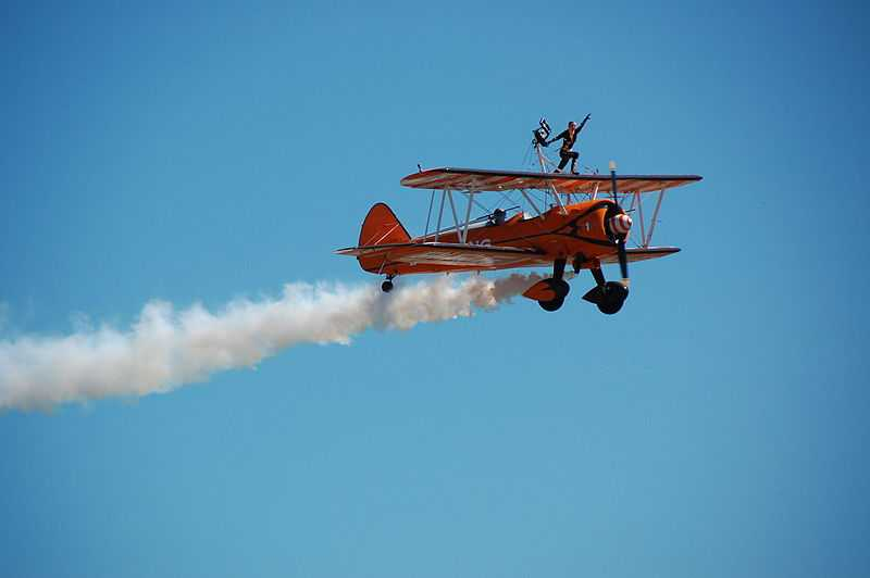 Wing Walking, 12 Of The Most Dangerous Adventure Sports In The World