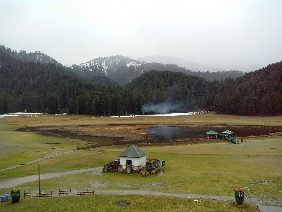 Winter afternoon at Khajjiar