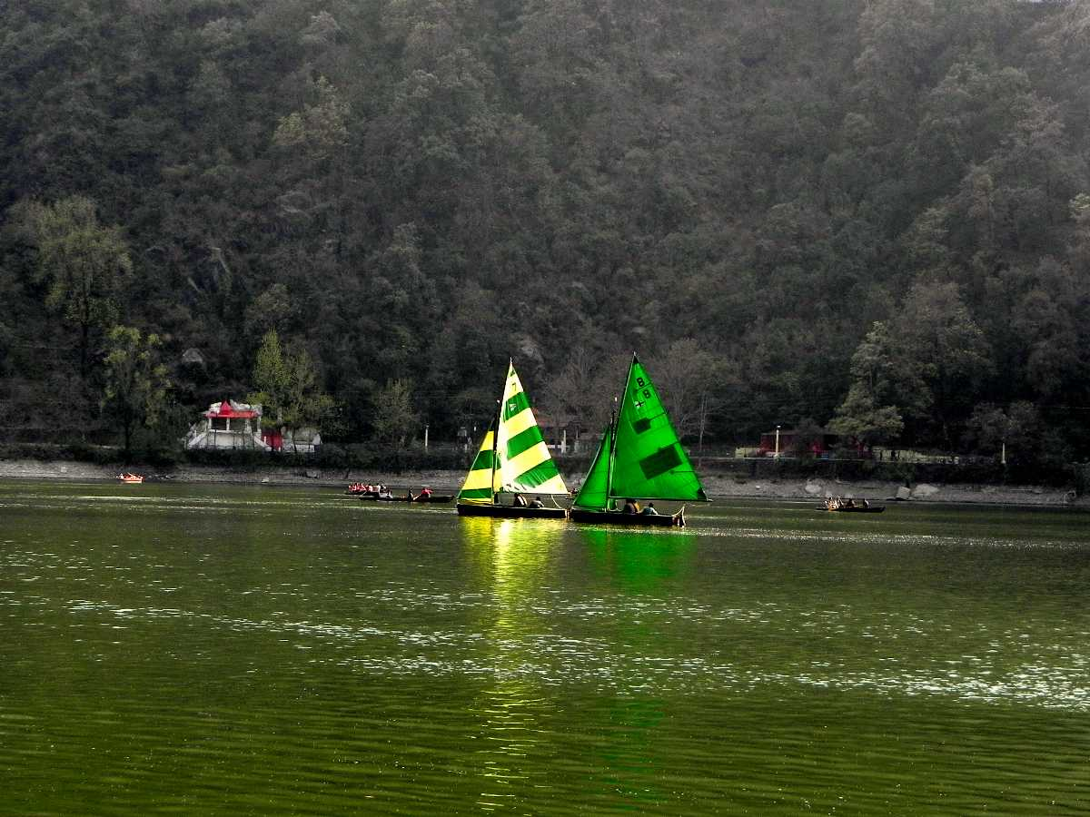Naini Lake, Boating in India