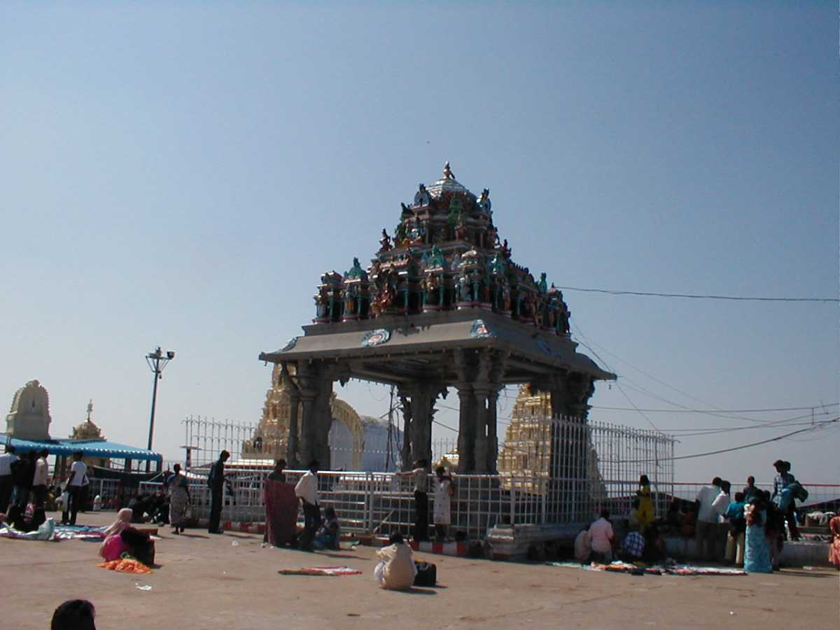Yadagiri Gutta Temple Premises