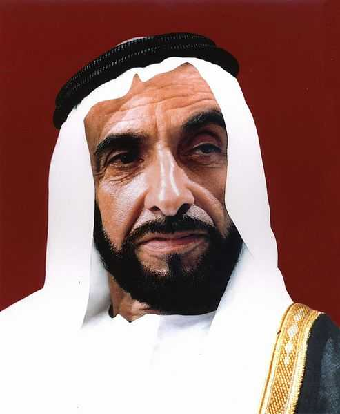 'Father of the Nation', H.H. Sheikh Zayed Bin Sultan Al Nahyan