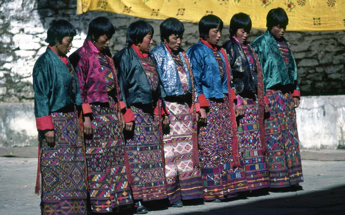 Zhungdra, Dances in Bhutan