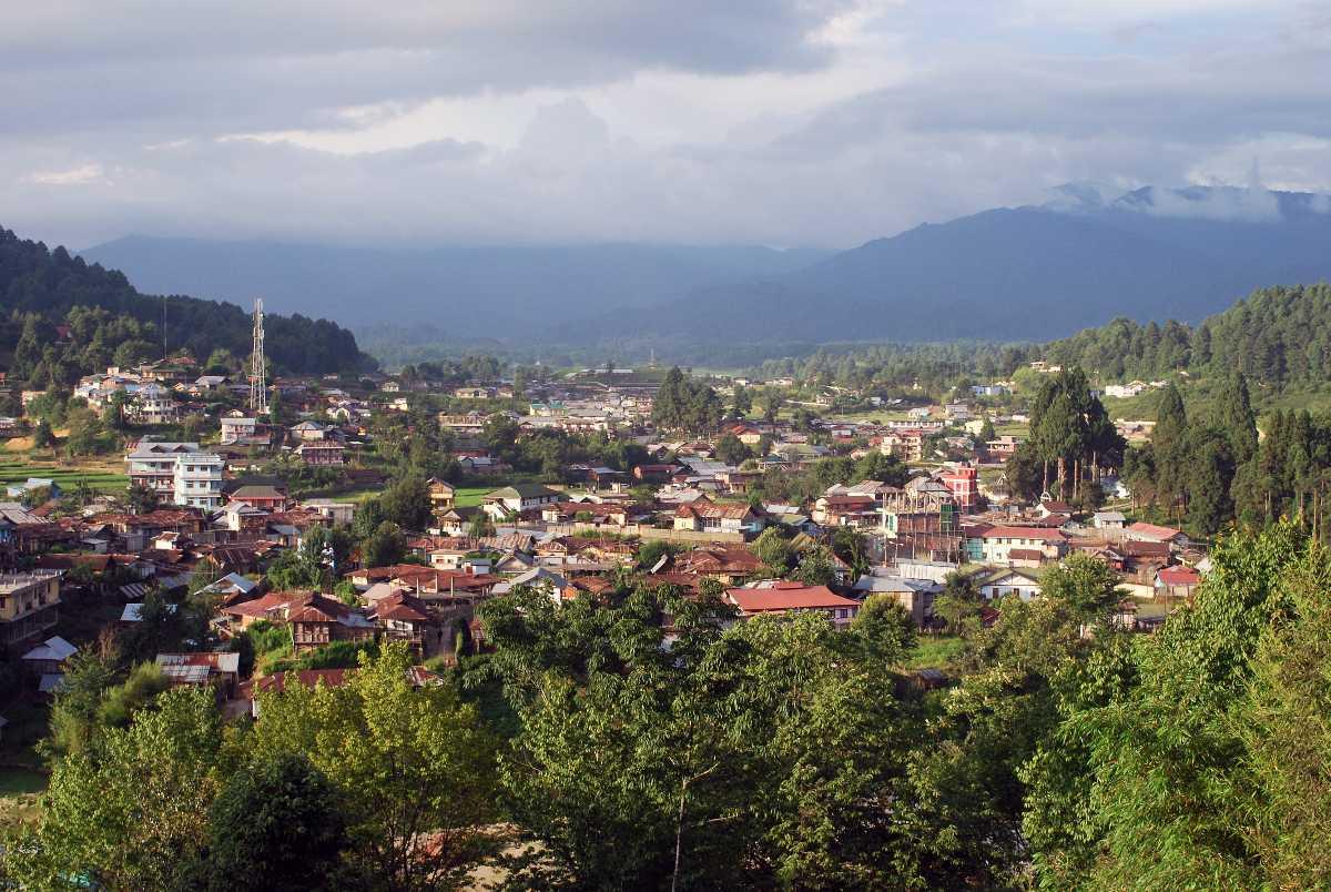 Ziro Town in Arunachal Pradesh