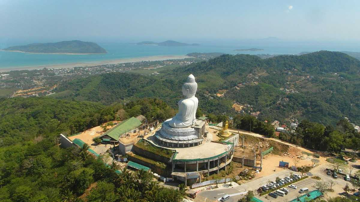 Big Buddha Attraction in Phuket