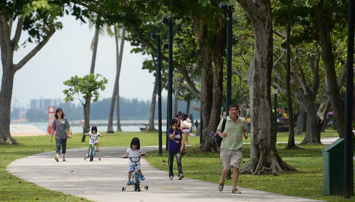 East Coast Park, Cycling in Singapore