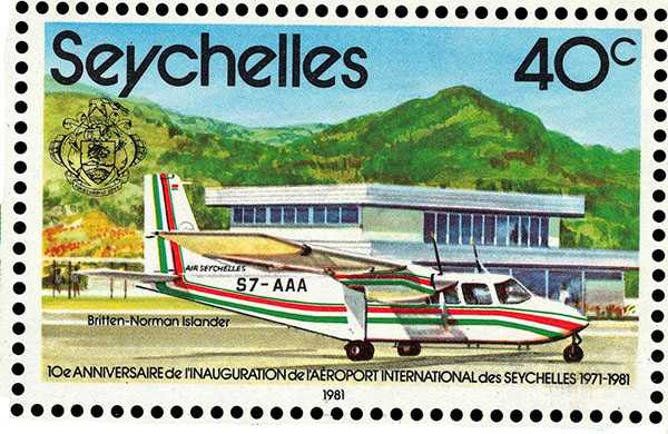 Mahe Airport, History of The Seychelles