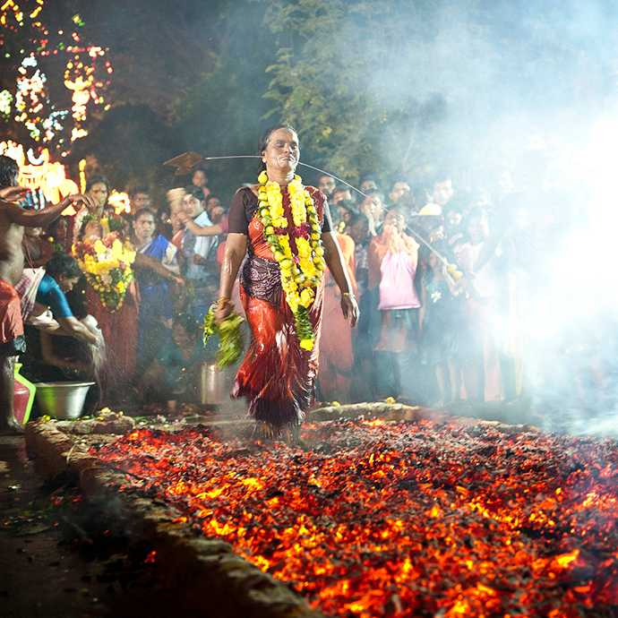 Theemithi Festival, Mauritius in December