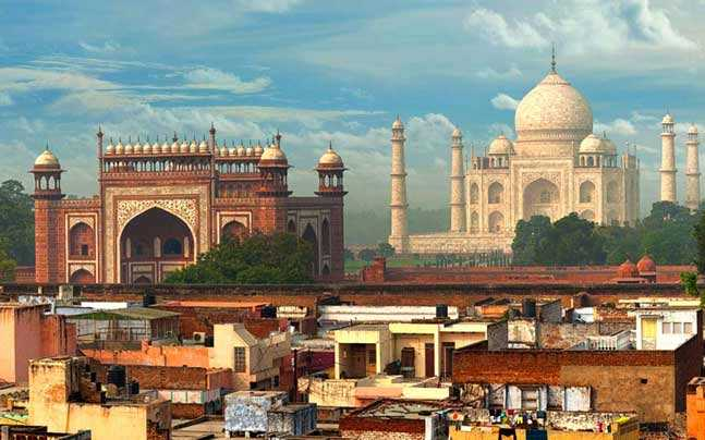 history of agra