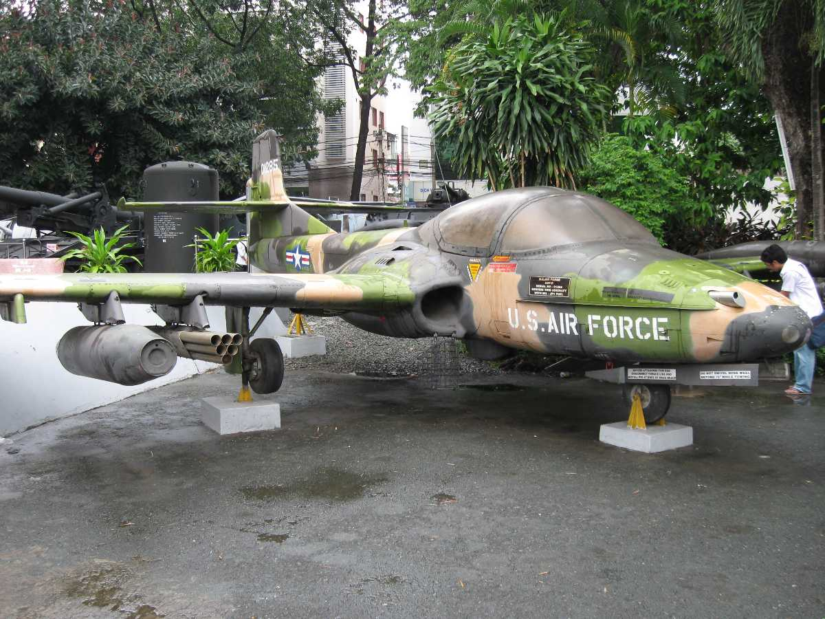 People's Air Force Museum in Ho Chi Minh City