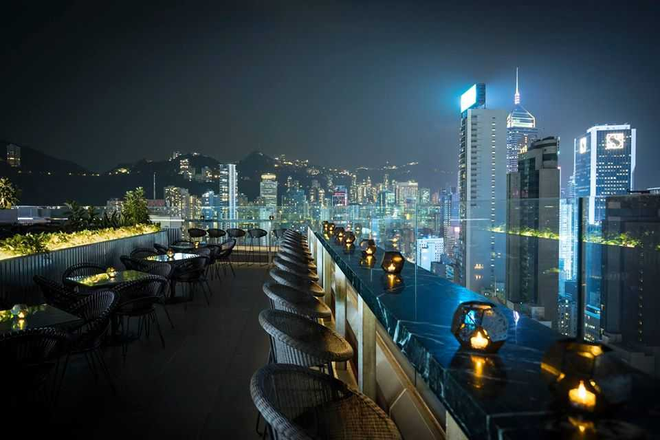 Alto bar at Hong Kong