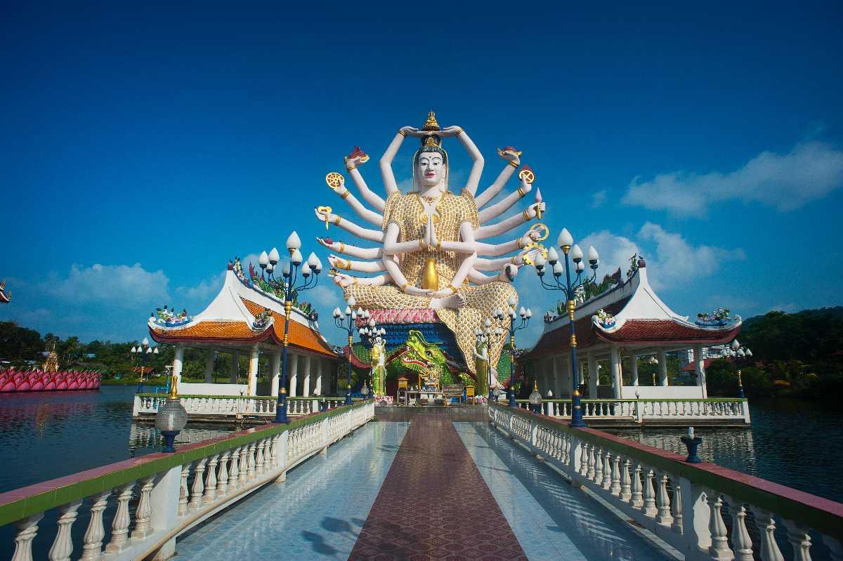Wat Plai Laem Temple, Free things to do in Koh Samui