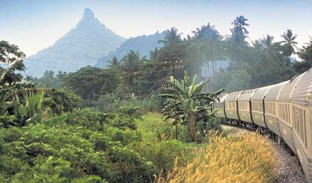 Cheap trip Thailand Christmas december train railways