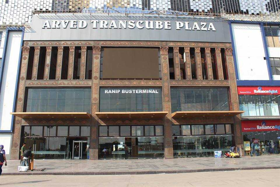 Arved Transcube Plaza, Malls in Ahemdabad