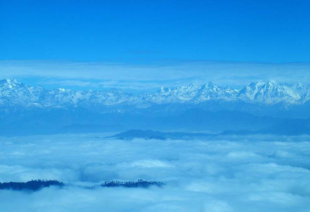 Binsar, A view of Kumaon Hills