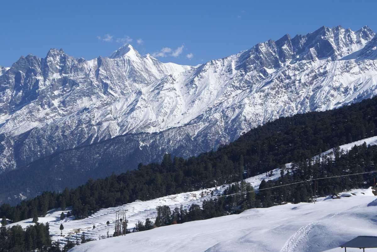 Auli Hills - Himalaya Badri Mountains