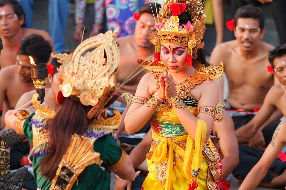 Dances in Bali are Graceful, Colourful and Expressive