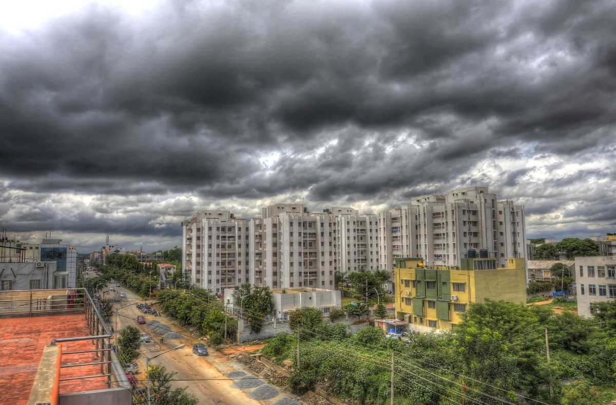 Bangalore City during Monsoons