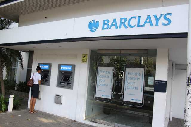 Barclays Bank, Currency Exchange in Seychelles