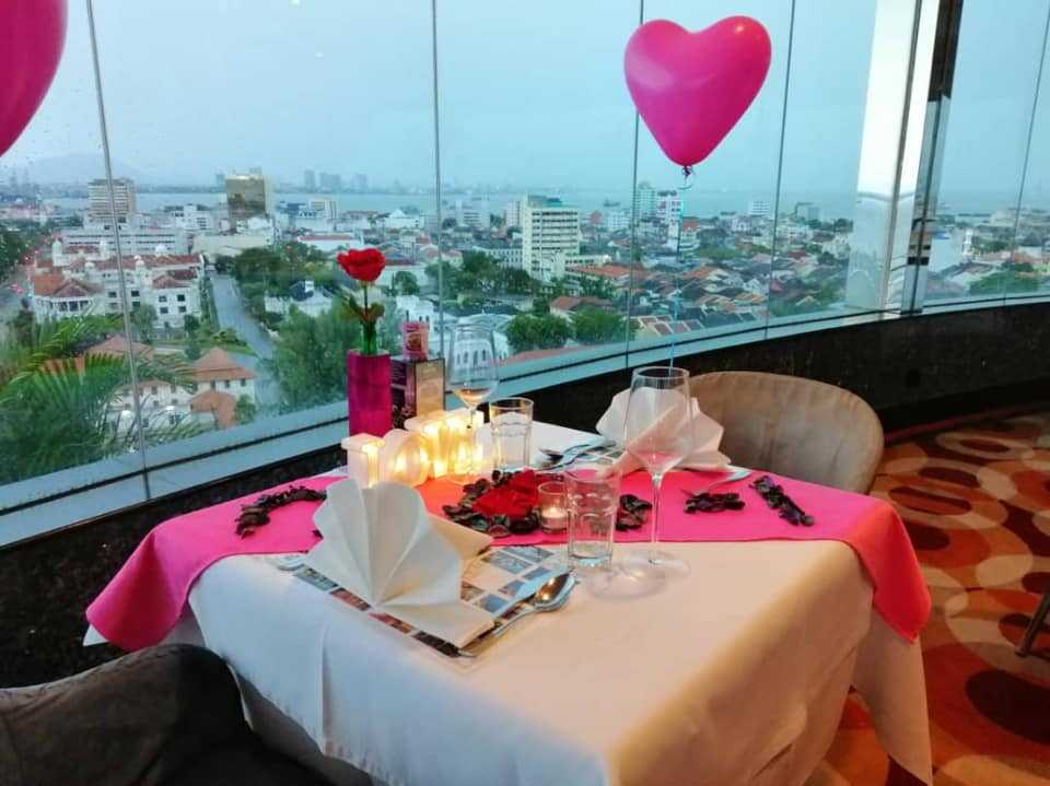 Three Sixty Revolving Restaurant and Rooftop Bar, Penang