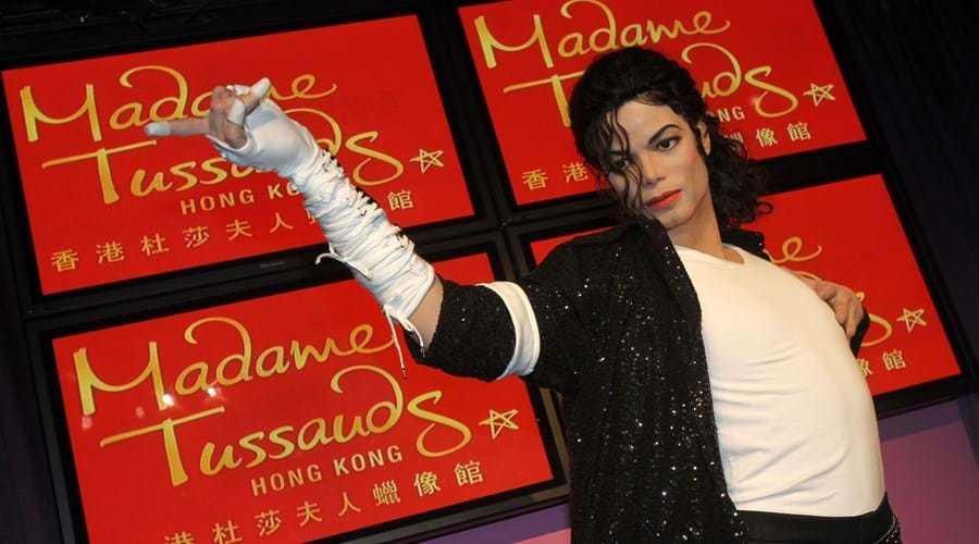 Jackie Chan Wax Figure at Madame Tussauds Hong Kong